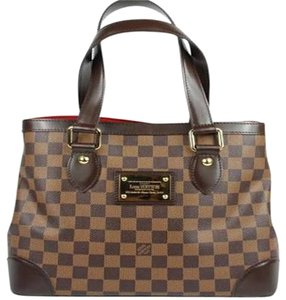 Louis Vuitton Damier Luis Satchel in Brown