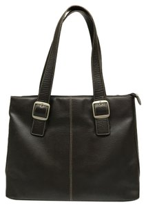 SOLOW Laptop Travel Tumi Business Tote in Brown