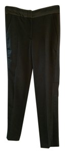 Joseph Wool Tuxedo Trouser Pants Black