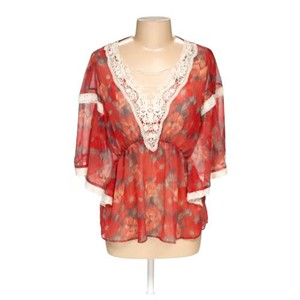 Free People Top Red