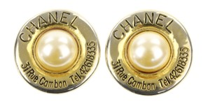 Chanel Imitation Pearl 31 Rue Cambon Medallion