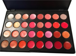 Professional Brand Bundle of Two Professional Makeup Palette - 10 Blush and 32 Lip colors