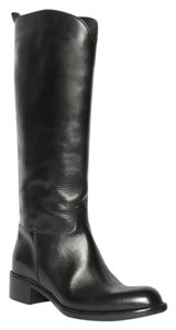 Sartore Riding Leather Black Boots