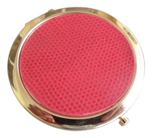 Chico's NEW Chico's Compact Mirror Red & Gold - STYLE: 570190196