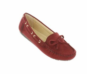 Red Circle Footwear Wine Flats