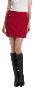 Juicy Couture Mini Skirt Red