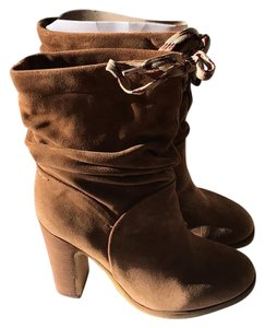 See by Chloé Chloe Jona Slouch Suede Chloe tan Boots