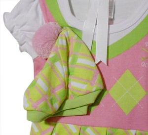 Baby Aspen Baby size 0-6 month Girls golf outfit.
