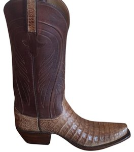 Lucchese Brown/tan Boots