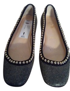Christian Louboutin Pewter Flats