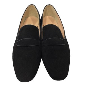 J.Crew Suede Leather Loafer Flat BLACK Flats