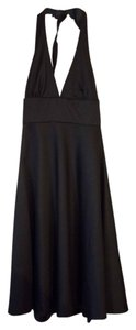 J.Crew Halter Midi Wool Formal Dress