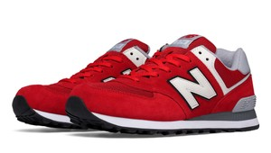 New Balance 8.5 Clothes Red Athletic