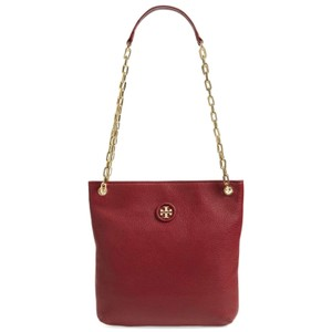 Tory Burch Covertible Pebbled Cross Body Bag