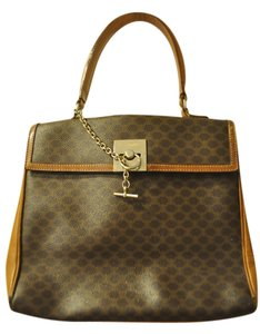 Céline Luggage Handbag Neiman Marcus Tote in Brown