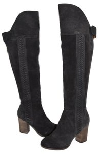 Dolce Vita Over The Knee Tall CHARCOAL SUEDE Boots