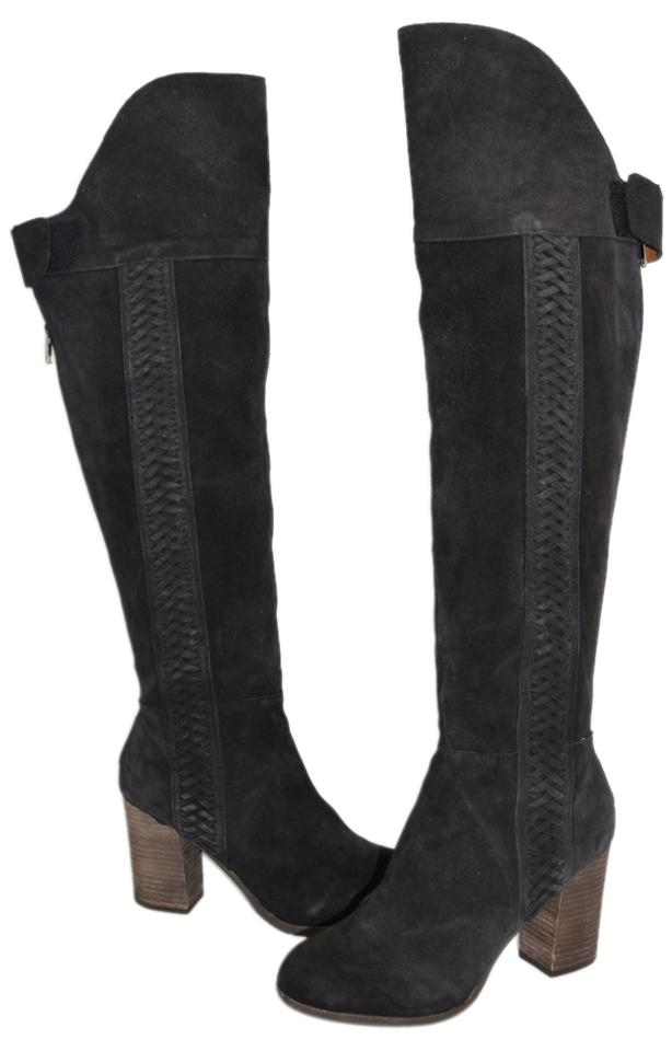 186ab600744 Dolce Vita Charcoal Suede Dv By  myer  Over The Knee (T5) Boots ...