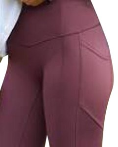 lululemon All the right places 7/8 pant brand new all the right places 7/8 Bordeaux