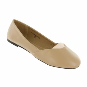 Red Circle Footwear Natural/Pink Flats