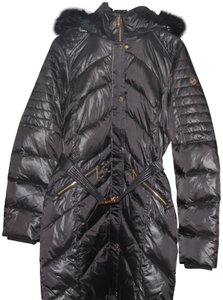 Michael Kors Hooded Belted Warm And Fashionable Coat