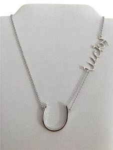 Other Sterling Silver 925 Horse Shoe Lucky Necklace