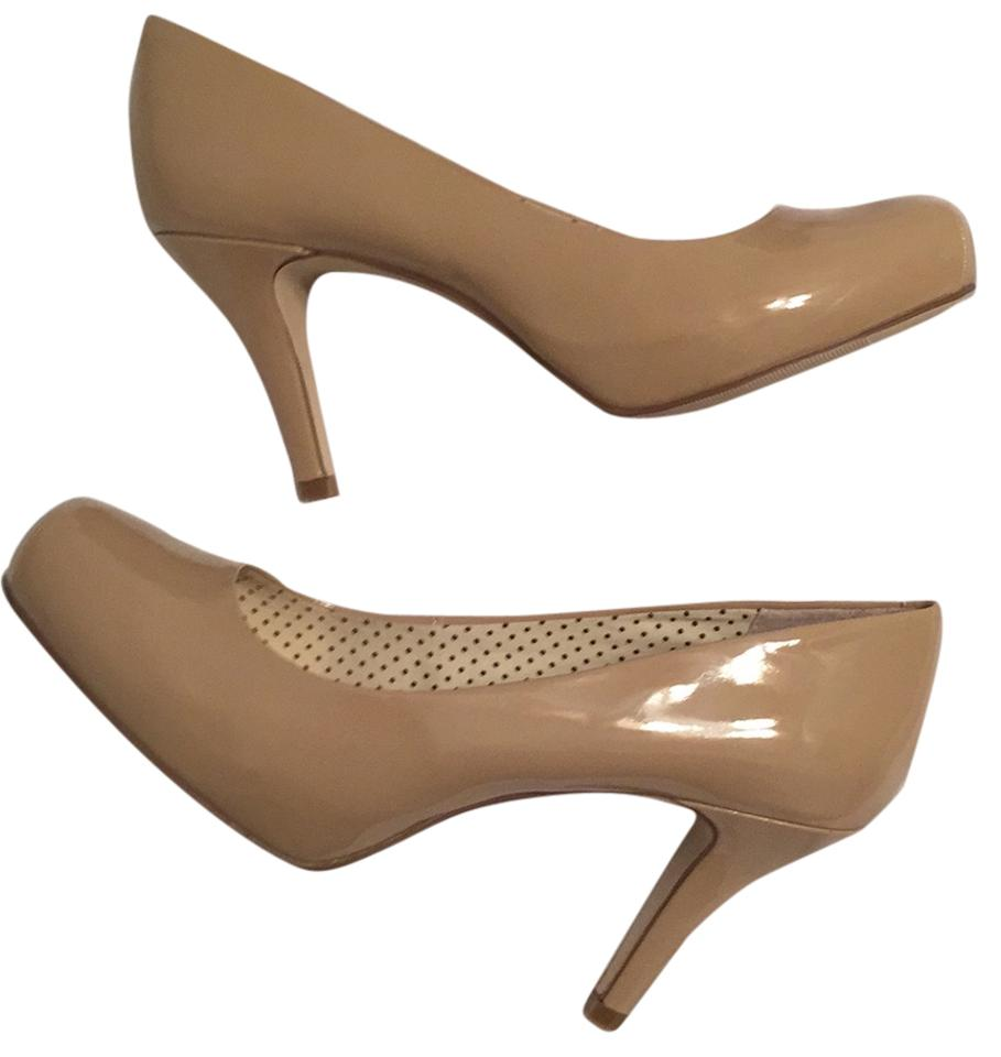 f9cabab8fa32 Madden Girl Nude Getta Patent Platform New In Box Pumps Size US 8.5 ...