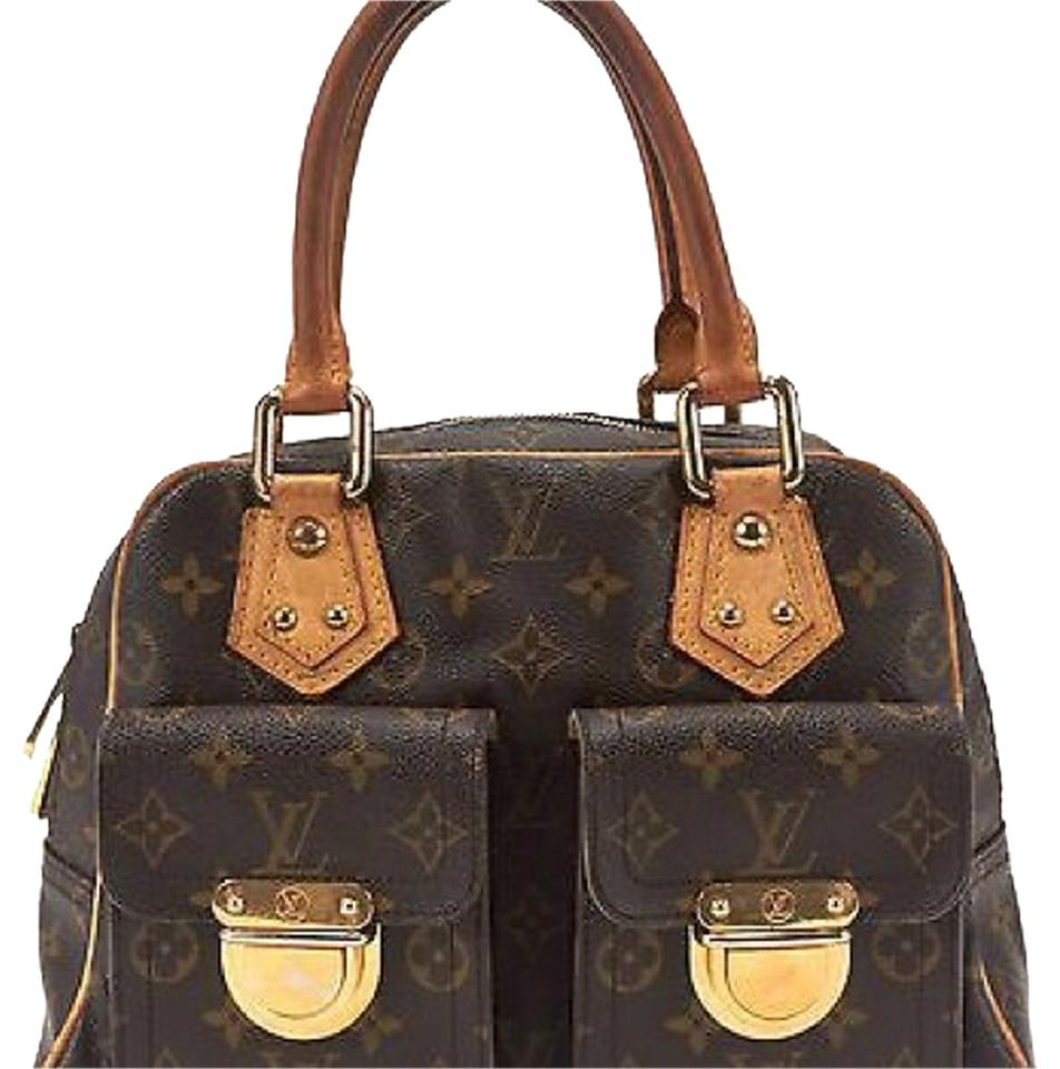 louis vuitton manhattan pm top handle hobo bag on sale 76 off hobos on sale. Black Bedroom Furniture Sets. Home Design Ideas