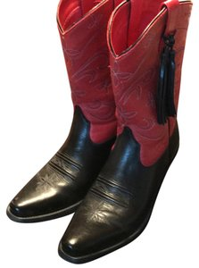 Ariat Black/Red Boots