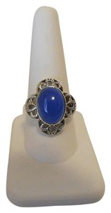 Nicky Butler Nicky Butler Blue Chalcedony Sterling Silver Filigree Ring