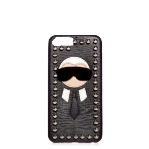 Fendi Fendi Black Karlito iPhone 6/7 Plus Cover