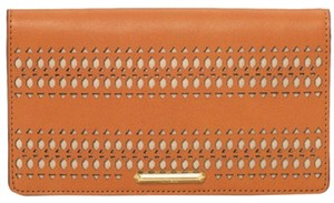 Stella & Dot Soho Flap Wallet - Saddle