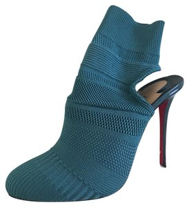Christian Louboutin Teal Boots
