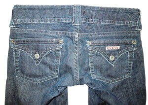 Hudson Jeans Hudson Flap Pockets 34x32 Boot Cut Jeans-Dark Rinse