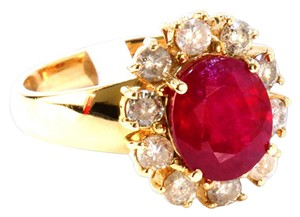 Other 3CT Natural RUBY 14K R/G RING