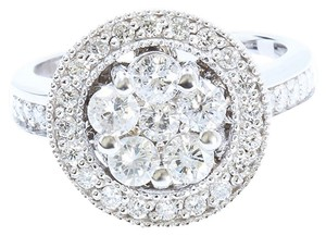 Other 1.33CT NATURAL DIAMOND 14K WHITE GOLD RING