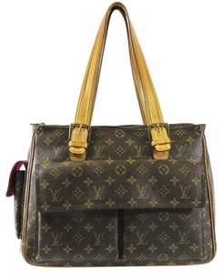 Louis Vuitton Gm Monogram Canvas Multipli Cite Shoulder Bag
