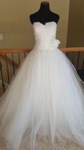 Pronovias White One W1 Suniva Wedding Dress