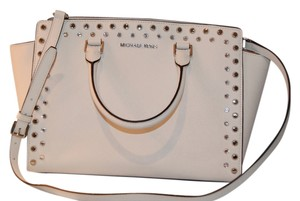 Michael Kors Only Used Twice Satchel in White