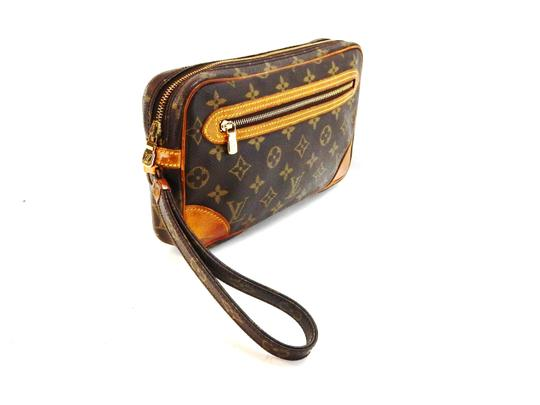 Louis Vuitton Marly Dragonne 25 Monogram Canvas Makeup Travel Toiletry Dopp Bag