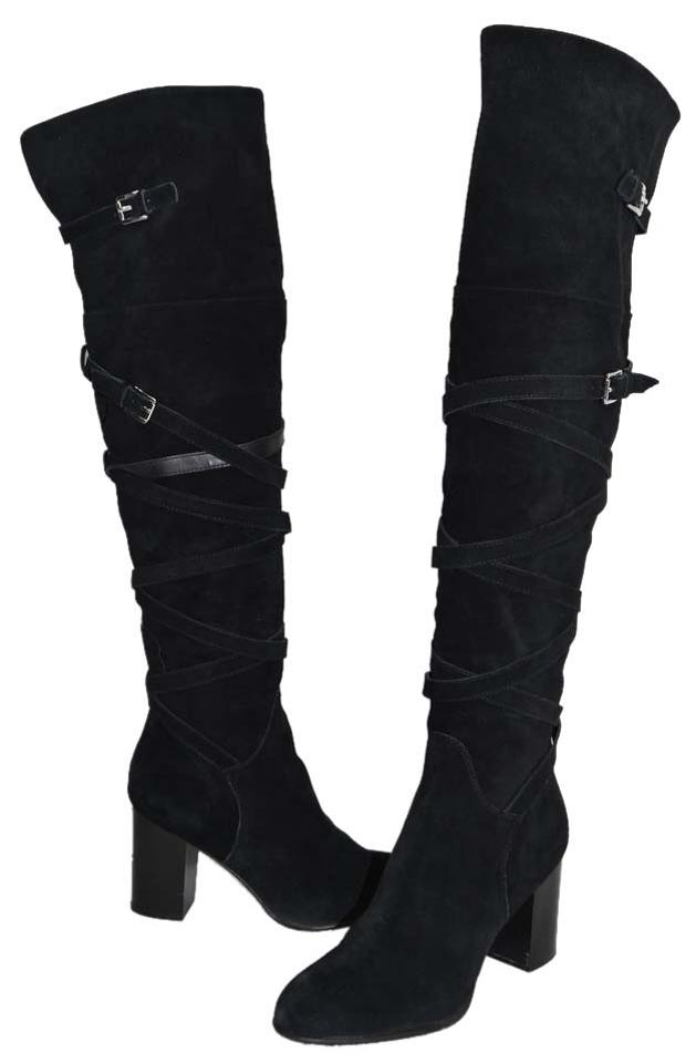 cee1fad63 Sam Edelman Suede Black Sable Over The Knee Otk M (T5) Boots Booties ...