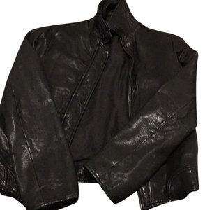 T by Alexander Wang black Leather Jacket