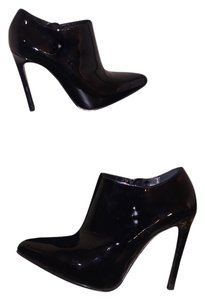 Saint Laurent Ysl Pump Patent Leather black Boots