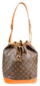 Louis Vuitton Vintage Monogram Coated Canvas Noe Shoulder Bag