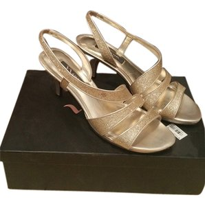 Nina Shoes gold baby Sandals