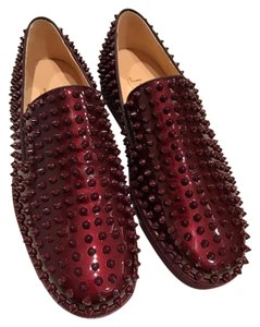 Christian Louboutin Roller Boat Orthodoxe Patent Leather burgundy Athletic