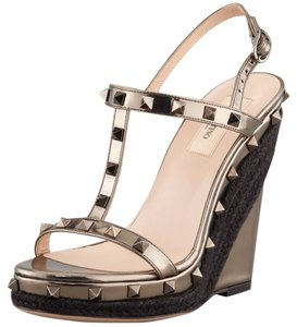 Valentino Metallic brown Wedges