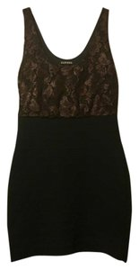 Express Lace Bodycon Holiday Cocktail Dress
