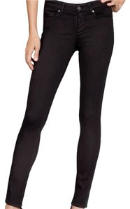 Paige Denim Skinny Jeans-Coated