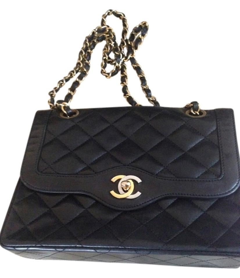 f121c5c7cf9ee9 Chanel Vintage Classic Double Flap Leather Crossbody Evening Shoulder Bag  Image 0 ...