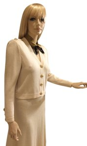 St. John St. John Ivory Color Size Small Skirt and Sweater